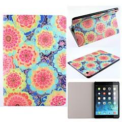 floraison motif de fleur en cuir PU cas complète du corps avec support pour iPad Mini / Mini 2