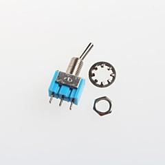 Toggle Switch Toggle Switch 6A 125V / 3A 250V (2pcs)