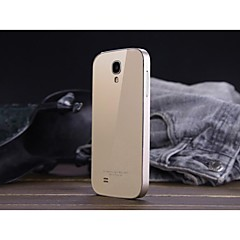 luphie acylisk tillbaka täck med aluminium metallram för Samsung Galaxy S4 i9500