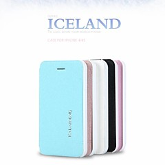 Promotion Six Ice Crystals Series Phone Leather Cases for iPhone 4(Assorted Colors)