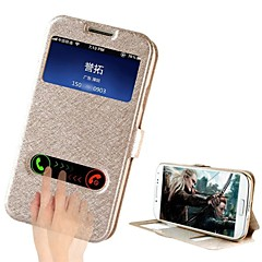 FUUSII® 2014 Newest Slik Leather Flip Smart View with Back Cover with Stand For Samsung Galaxy S4 /I9500