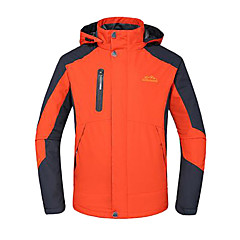 Deshengren Winter Men's Three-in-one Windproof Breathable Ski Jacket