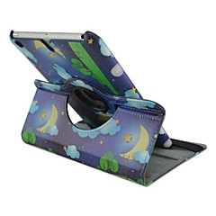 Fashion Painted Owl Rotated PU Full Body Case with Stand for iPad 2/3/4