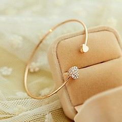Korea Style Golden Love Cuff Bracelet(1pc)