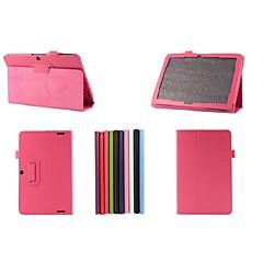 10,1 tuuman kaksi taitto malli lichee pu nahkakotelo Acer Iconia a3-A20 (valikoituja värejä)