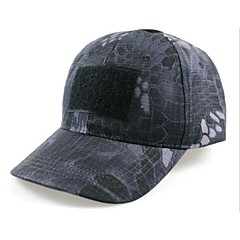 ESDY Fishing Outdoor Windproof Polyester Camouflage Hat Baseball Cap Sun Visor Black Python