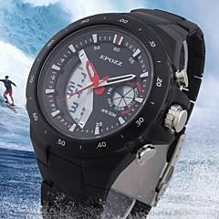 för män lcd vattenresistent analog-digital mode militära klocka för sport (blandade färger)