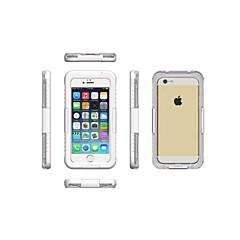 Varten iPhone 6 kotelo / iPhone 6 Plus kotelo Vedenkestävä / Läpinäkyvä Etui Kokonaan peittävä Etui Yksivärinen Kova PCiPhone 6s Plus/6