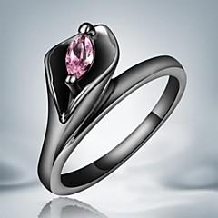 Pierścionki Codzienny / Casual Biżuteria Stop Damskie Duże pierścionki8 Czarny