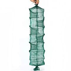 Folding Eel Rrap Net Cage - Green