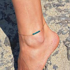 Eruner®Boho Women Sexy Bead Charm Anklet Chain Bracelet Foot Ankle Beach Sandal Jewelry