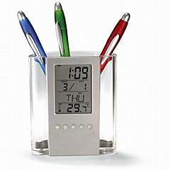 Creative Message Brush Pot Multifunction Alarm Clock