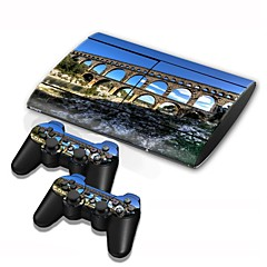 PS3의 슬림 4000 콘솔 보호 스티커 커버 피부 컨트롤러 피부 스티커
