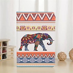 Elephant Pattern PU Leather Case with Stand and Card Slot for iPad 2/3/4