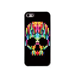 Pour Coque iPhone 5 Motif Coque Coque Arrière Coque Crâne Dur Polycarbonate pour iPhone SE/5s/5