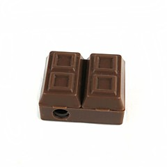 Chocolate Modeling Pencil Sharpener Eraser