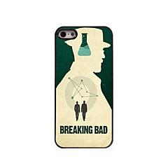 rupture mauvais cas dur design en aluminium pour iPhone 5 / 5s