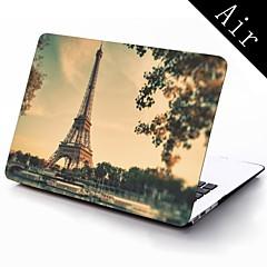 Paris Eiffelturm Vollschutzkunststoffgehäuse für 11-Zoll / 13 Zoll neue Mac Book Luft
