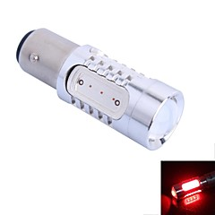 gc® 1157 11W 400lm punainen led auton vilkku valo / peruutusvalo lamppu (dc12-24v)