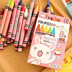 8 Color Children Crayons Set