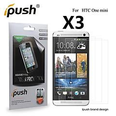 korkea läpinäkyvyys matta LCD Näytönsuoja HTC yksi mini (3 kpl)