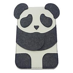 Mini Super Thin Cute Cartoon Panda Style Felt Fabric Pouch for iPad mini 3, iPad mini 2, iPad mini