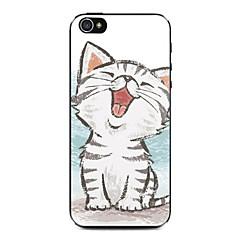 cas dur de modèle de chaton heureux pour iphone 5/5 ans