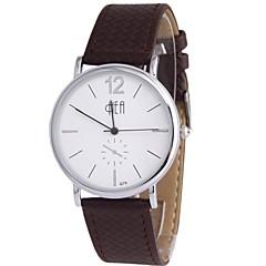 reloj para hombre del reloj de manera impermeable de malla de acero de cuarzo negocio de la moda correa (colores surtidos)