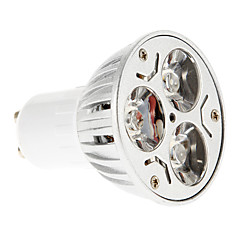 6W GU10 LED Spotlight 3 15-20/30-35 lm Red / Blue AC 85-265 V 1 pcs