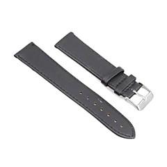20mm pu lederen steek horlogeband bandje horlogeband zwarte model