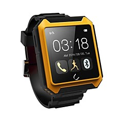 u는 u는 안드로이드 / iOS 용 착용 할 수있는 스마트 워치, 미디어 / 핸즈프리 / 나침반 / IP68 방수 / 보수계 테라 시계