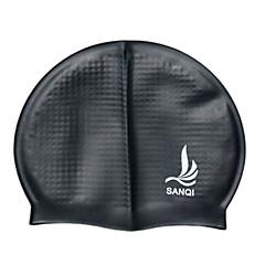 Sanqi Unisex Fashional Classic Comfotable Waterproof Ear Protection Swimming Cap