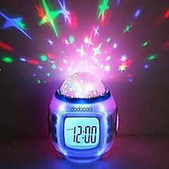 새로운 패션 아이들 방 놀라운 하늘 스타 알람 시계