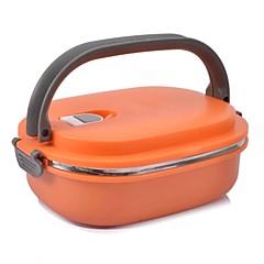 NEJE rustfrit stål isoleret bento box madkasse med håndtag