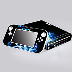 b-skin® couverture d'autocollant de protection autocollant de contrôleur de la peau de la console Wii U