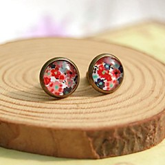 Fashion Floral Stud Earrings