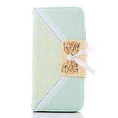bourgeon modèle en soie de cas complète du corps avec support pour iphone 5/5 ans (de couleurs assorties)