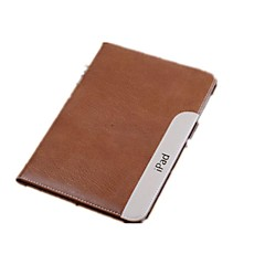 iPad 2/iPad 4/iPad 3 compatible Solid Color Genuine Leather Smart Case Cover s