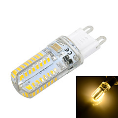 G9 5W 64 SMD 3014 200 lm Warm White / Cool White T LED Corn Lights AC 220-240 V