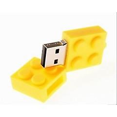 4gb oyuncak tuğla karikatür USB 2.0 flash kalem sürücü