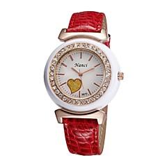 Women's 2015 Newest Charm Watch Quartz Analog Leopard Colourful Heart Pattern Diamond Rhinestone Lady Girls Gift