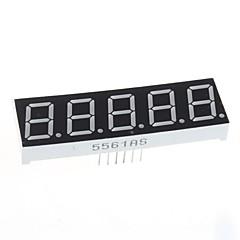 kompatibel (til Arduino) 5-cifret display modul - 0.56in.