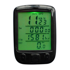 Compteur vélo 25 Functions Waterproof backlight LCD Cycling Bike Bicycle Computer Odometer Speedometer Accessories
