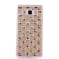 TPU κόσμημα με διαμάντια που απορρέουν από την εμφάνιση για το Samsung Galaxy A7