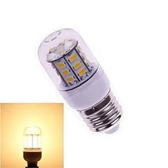 7W E26/E27 Bombillas LED de Mazorca T 27 SMD 5730 648 lm Blanco Cálido DC 24 V 1 pieza