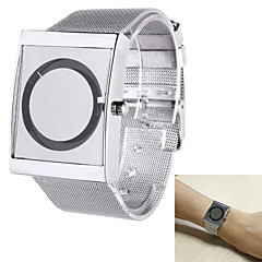 Men's Analog Wrist Watch Personality Fashion Steel Belt Design Quartz Watch(Assorted Colors)