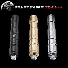 forte aigle / ZQ-la-05 pointeur laser vert (5mw.532nm.1x18650.multi couleur)