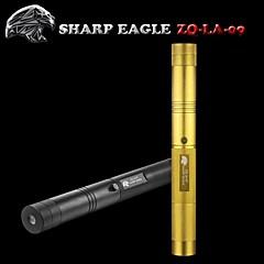 terävä eagle / ZQ-la-09 vihreä laserosoitin (5mw.532nm.1x18650.black/golden)