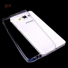στερεό χρώμα διαφανές εξαιρετικά λεπτό TPU για Samsung Galaxy α3