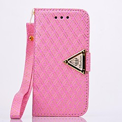 Luxurious PU Leather Full Body Case with Stand and Card Slot for iPhone 4/4S(Assorted Colors)